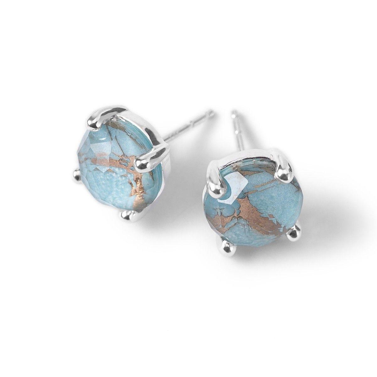 Rock Candy® Sterling Silver Mini Stud Earrings