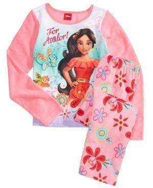Disney Elena of Avalor 2-Piece Fleece Pajama Set Size 8
