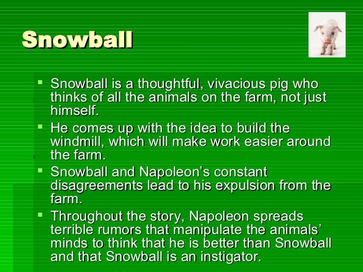 19++ Who does snowball represent in animal farm ideas in 2021