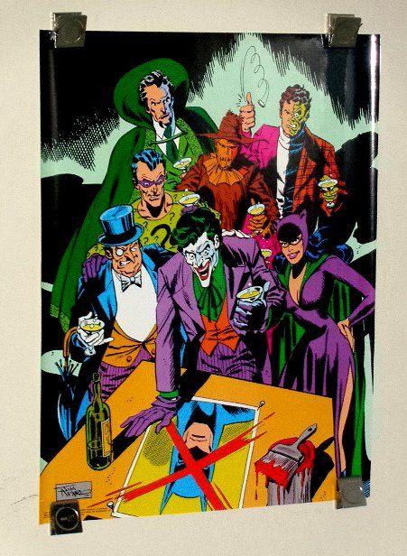 Pin On Marvel Dc Comic Posters Rare Vintage Original Comic Book Superhero Posters