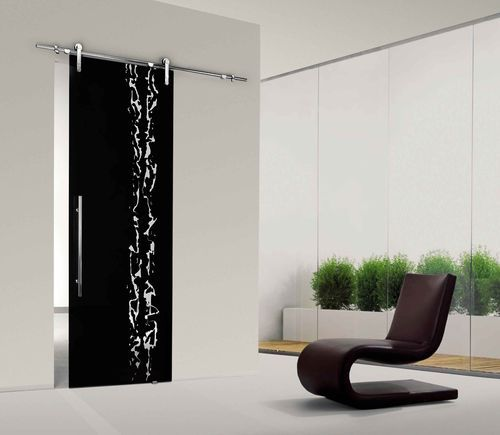 Sliding door / glass FRAMMENTI Casali