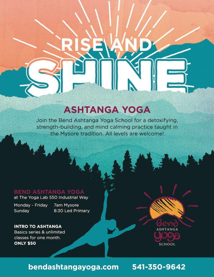 Bend Ashtanga Yoga Flyers