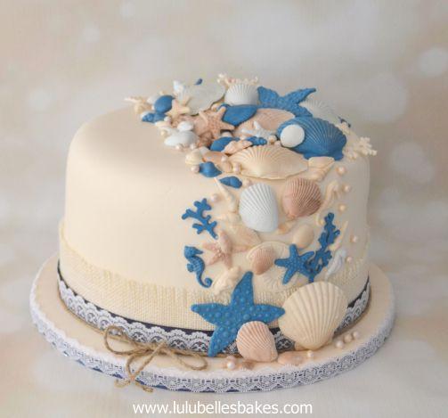 Seashell cake Lulubelles Bakes Pinterest Birthday cakes