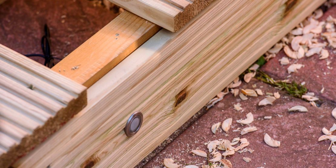 How To Install Deck Lighting Wickes