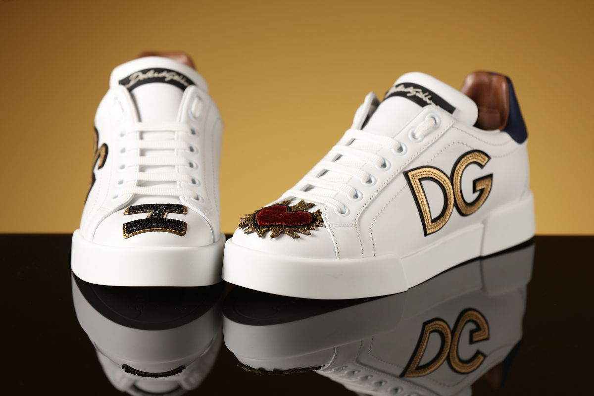 Just go for it! D\u0026G sneakers! | Leather