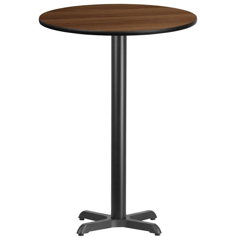Round Bar Tables 24 Inch 30 Inch 36 Inch Or 42 Inch Tables Laminate Table Top Bar Height