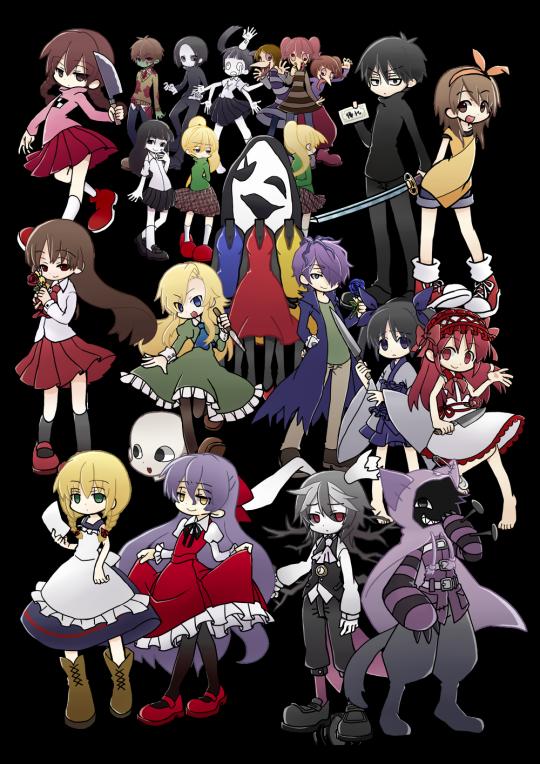 Horrorrpgartmastersupplier Juegos De Horror Rpg Maker Personajes De Juegos