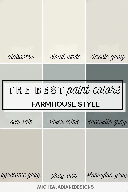 farmhouse wall colors sherwin williams