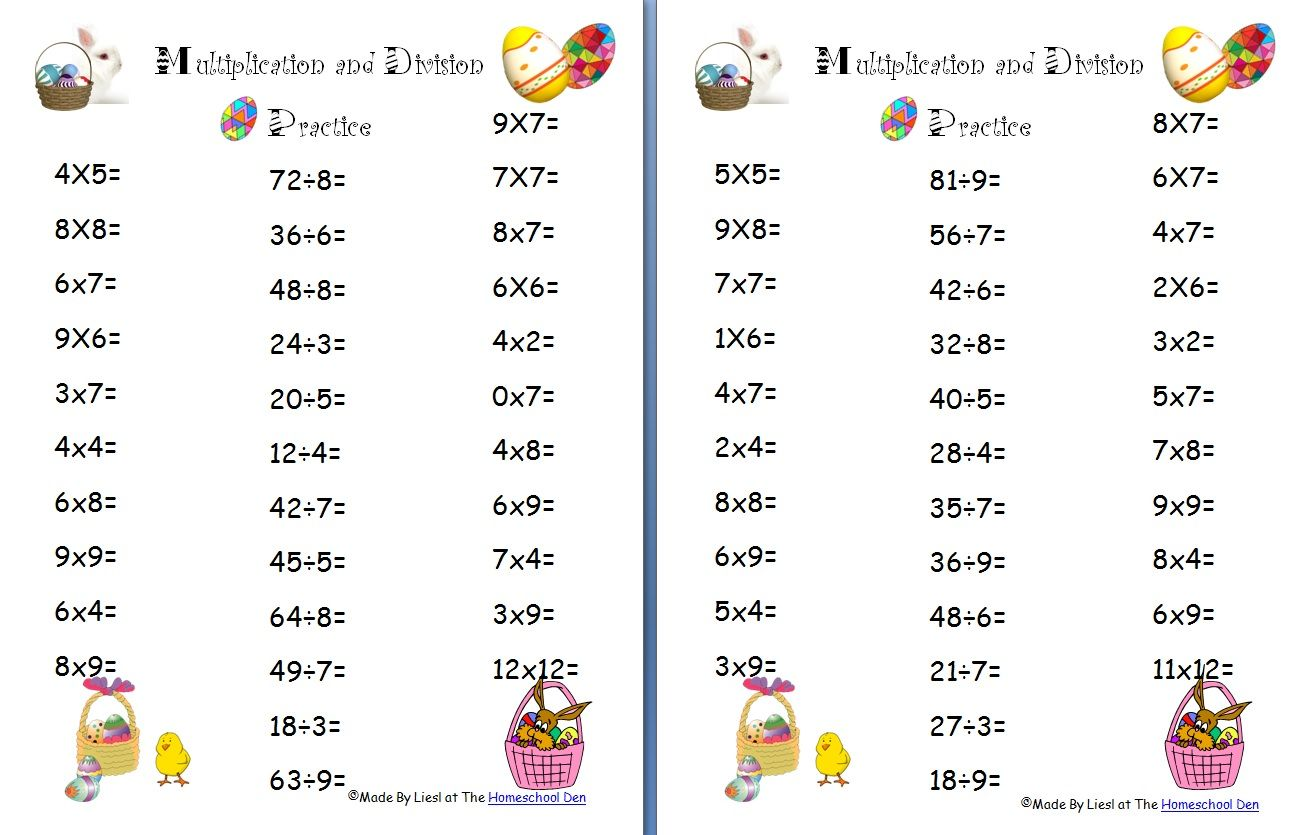 46 Innovative Multiplication Worksheets For You S