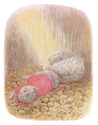 From The Tale Of Timmy Tiptoes By Beatrix Potter Timmy Tiptoes
