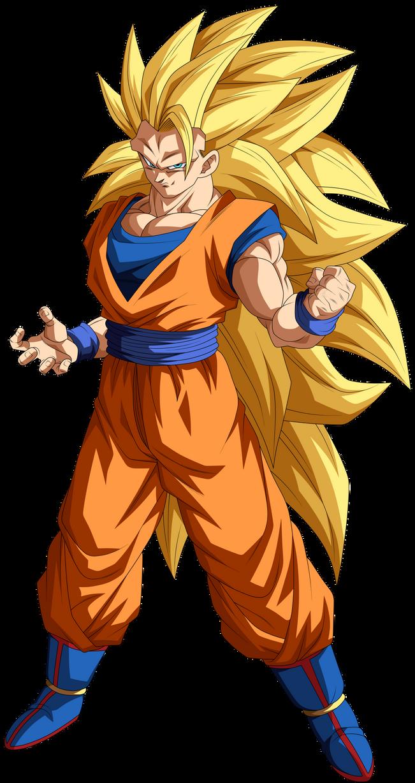Goku Super Saiyajin 3 by Arbiter720 on DeviantArt