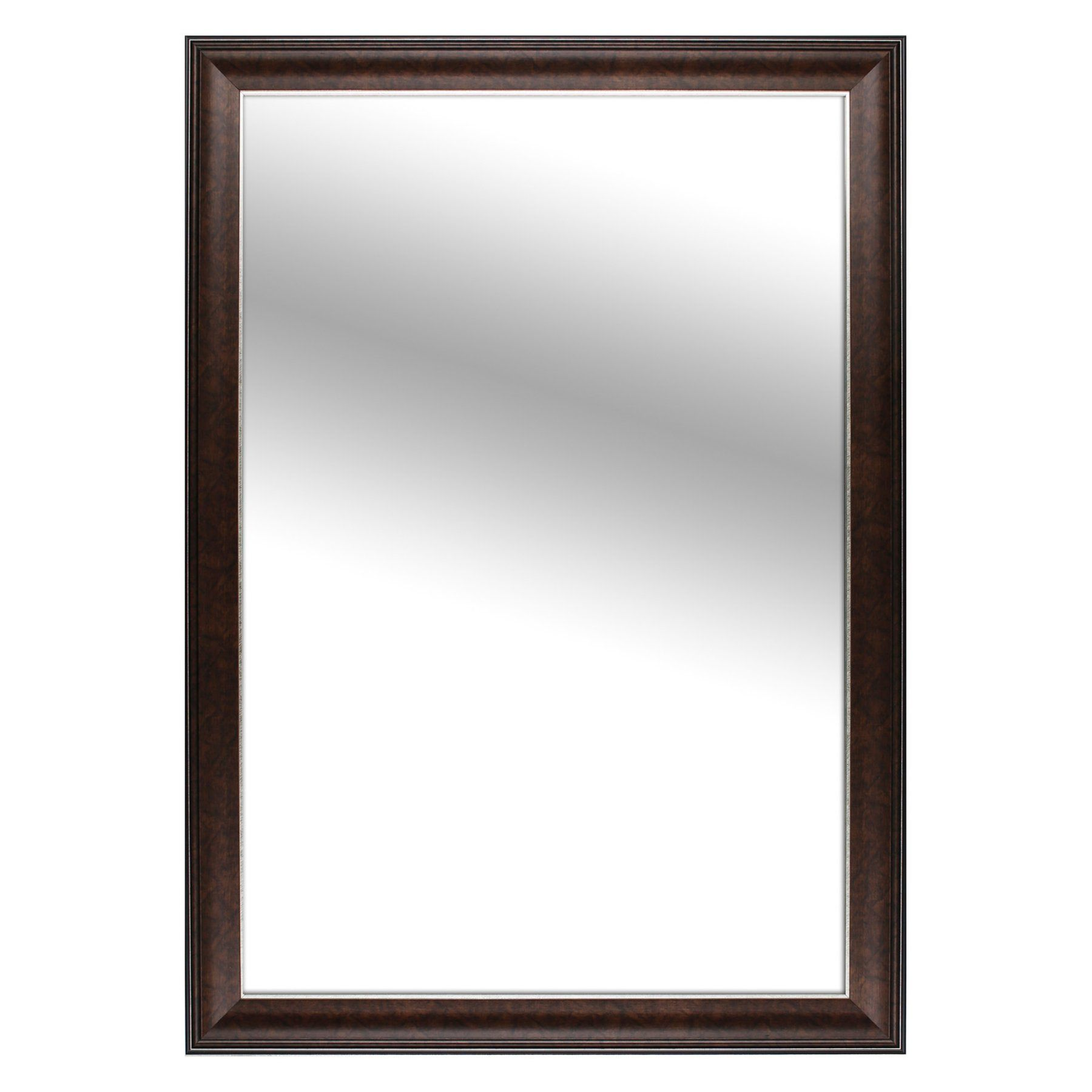 Mirrorize Canada Bronze Framed Mirror  29W X 41H In