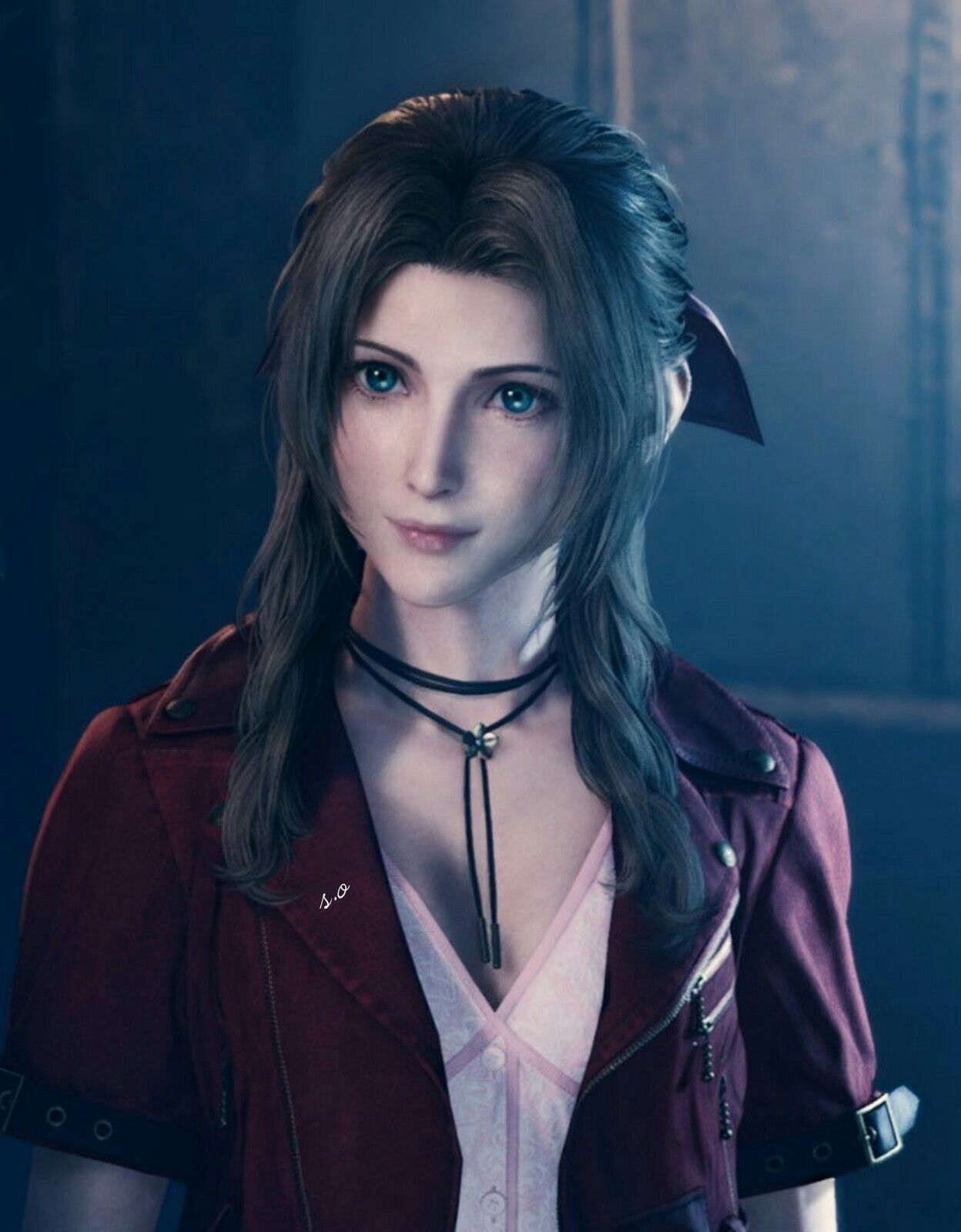 Ffvii Remake Aerith In 2020 With Images Final Fantasy Final