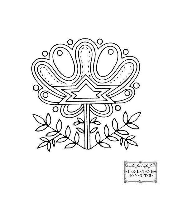 crown_motif | Bordado, Bordado húngaro y Patrones de bordado