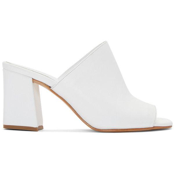 Maryam Nassir Zadeh White Penelope Slide Sandals found on