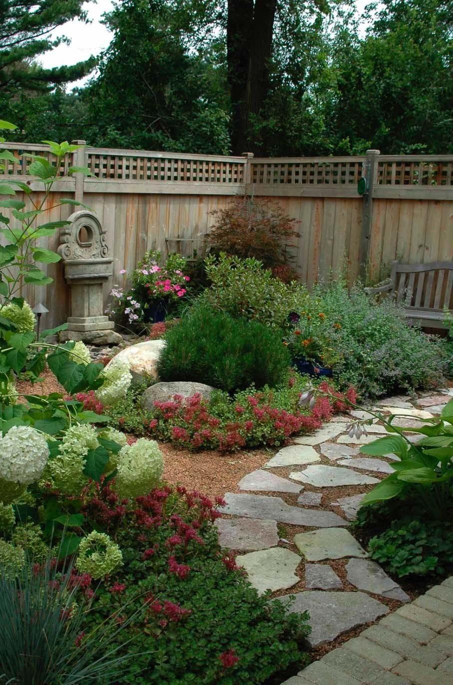40+ Brilliante Ideen für Steinwege in Ihrem Garten #flagstonepathway