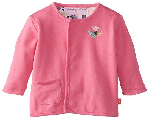 Magnificent Baby-Girls Newborn Reversible Cardigan