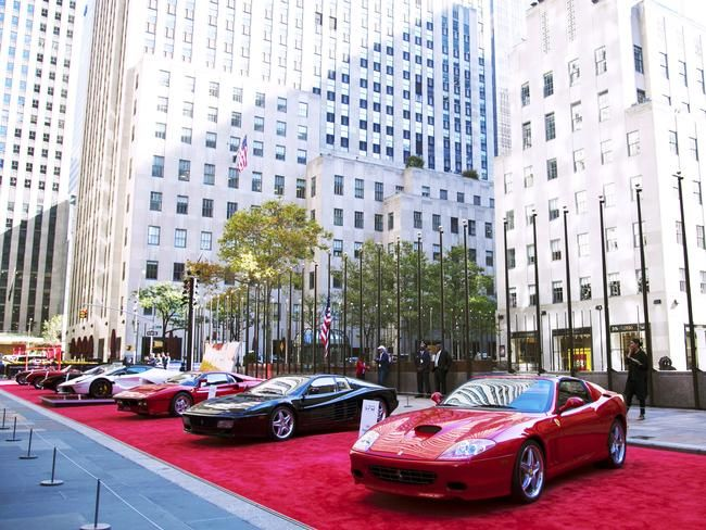 "The ""Through The Decades"" Ferrari exhibition NYC 2017"