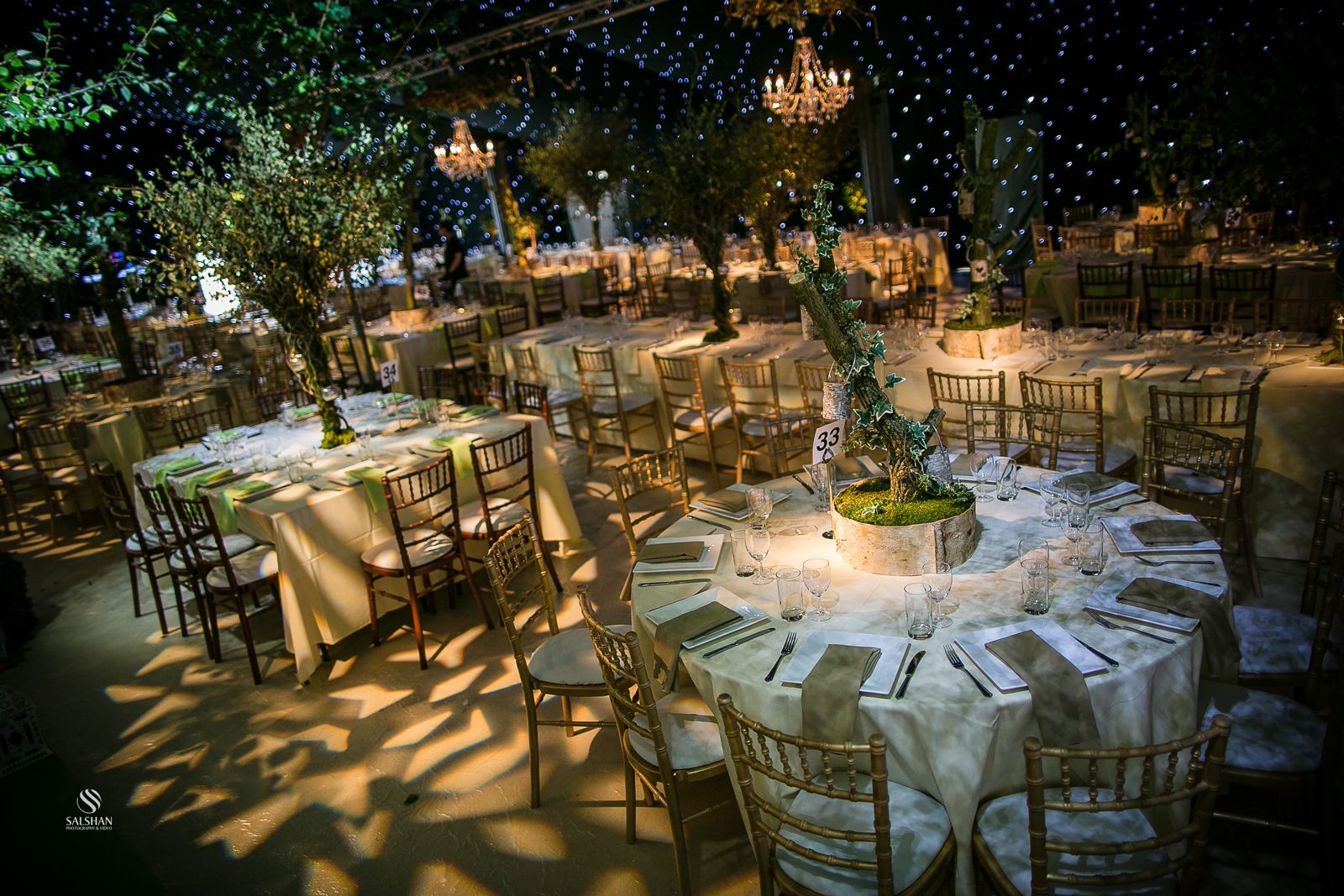 S Events Enchanted Forest Theme