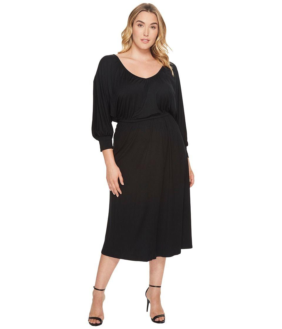 f5d26b35c2 Rachel Pally Plus Size Tanga Dress Women s Dress Black