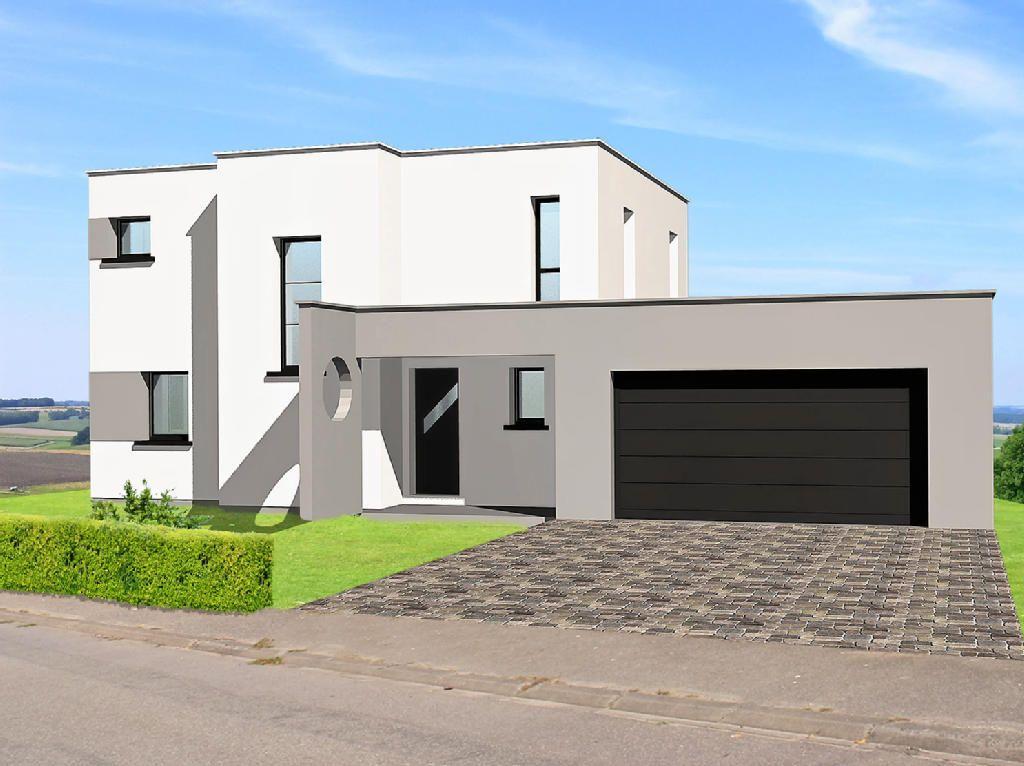 maison-toit-plat-garage-largejpg (1024×766) Maison toit plat