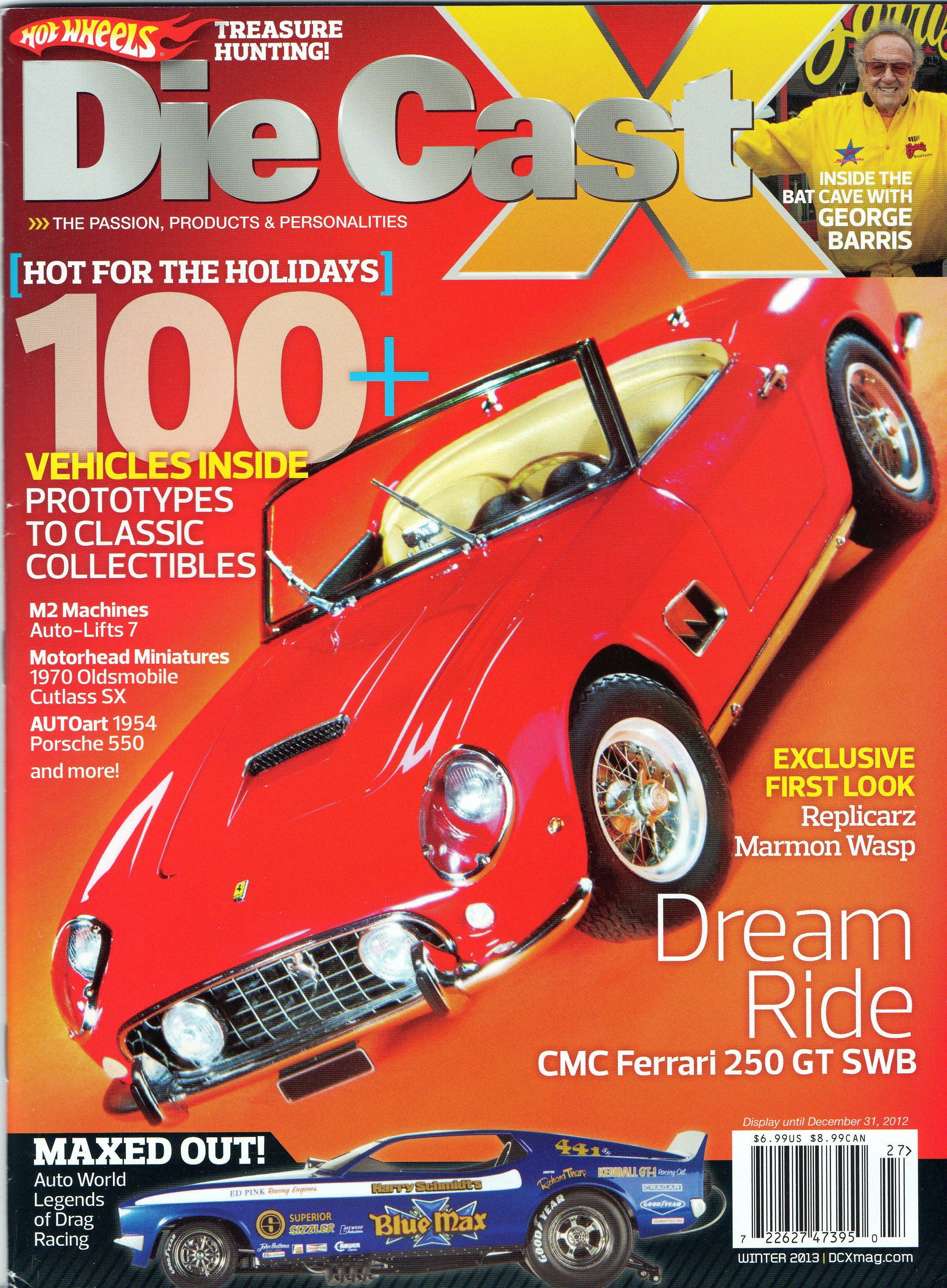 George Barris Issue Die Cast X Magazine Winter 2012/2013 #hotwheels ...