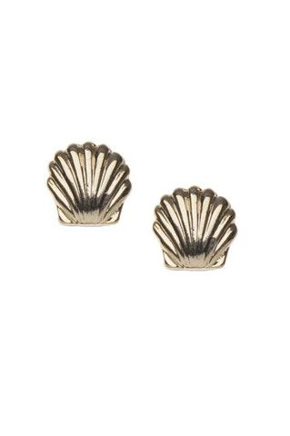 Shell Stud Earring - ORE7406 | Lily
