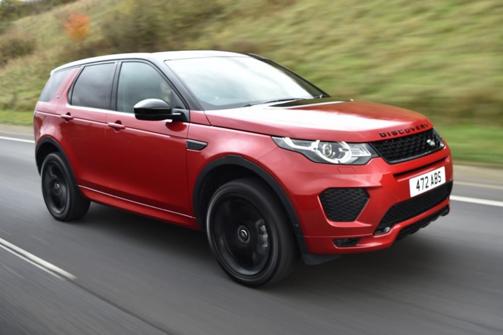 Best 7 Seater Cars 2017/2018   Land Rover Discovery Sport
