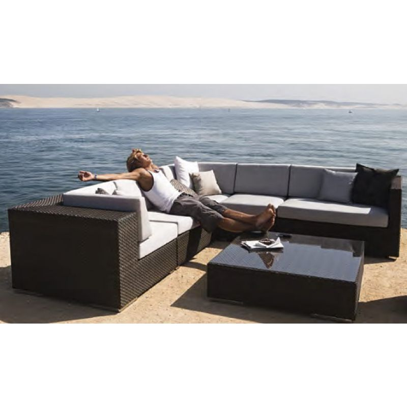 dedon lounge hochwertige outdoor gartenm bel von dedon dedon pinterest. Black Bedroom Furniture Sets. Home Design Ideas