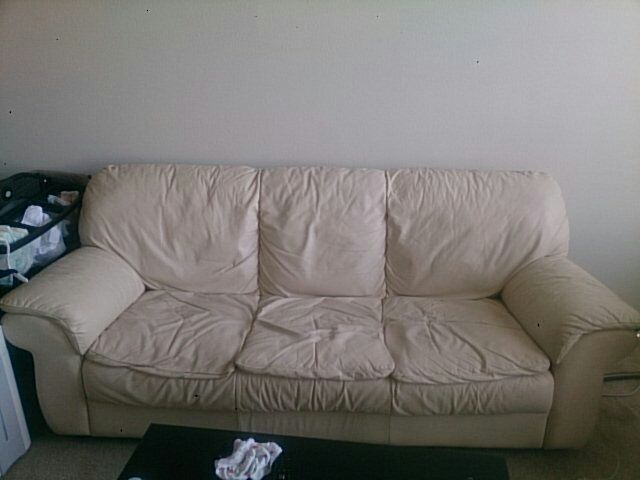 Super Comfortable Sofa Ivory Seat Height About 19 Inch Depth 22 Wide 76 32 Color Or