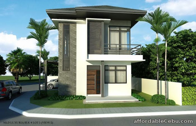 Two Storey Small Simple Modern House Design