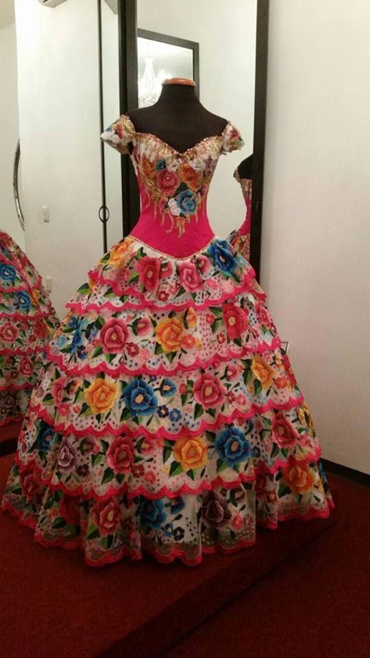 446d12c007  PacoMayorga Vestido de inspiración étnica