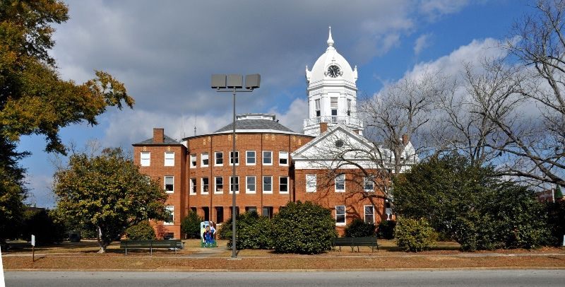 The Old Monroe County Courthouse at Monroeville, AL (home of To Kill