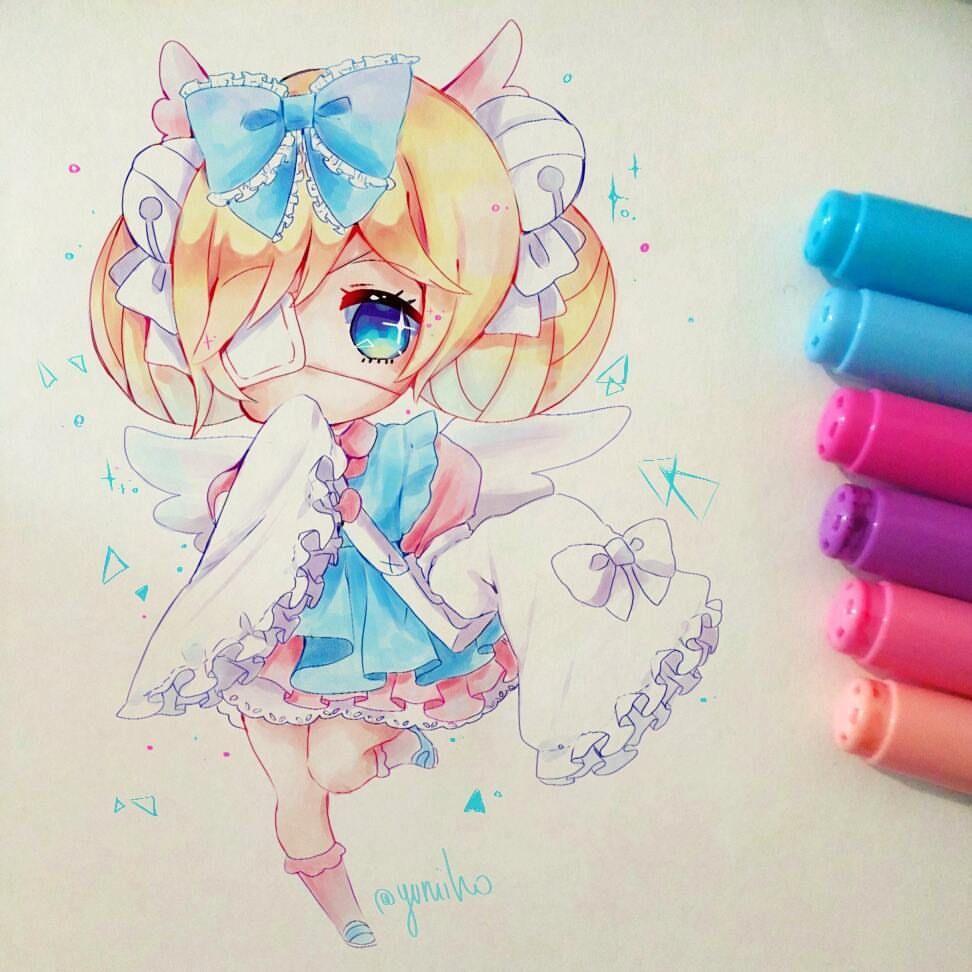 Anime Art Anime Realism Pretty Girl Eyes