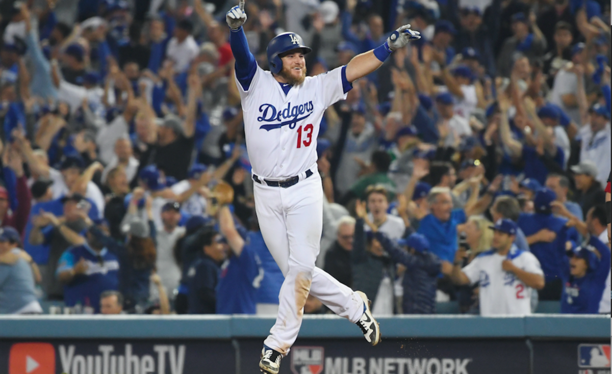Max Muncy Hit A Walk Off Home Run In The Bottom Of The 18th Inning And The Los Angeles Dodgers Defeated The Boston Red Dodgers Red Sox World Series Dodgers Win
