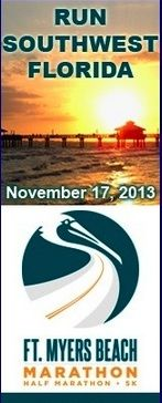 Run Southwest Florida November Event Ft Myers Beach Fl Visit Our Florida Half Marathon Calendar For The 10 Off Co Half Marathon Running Events Marathon
