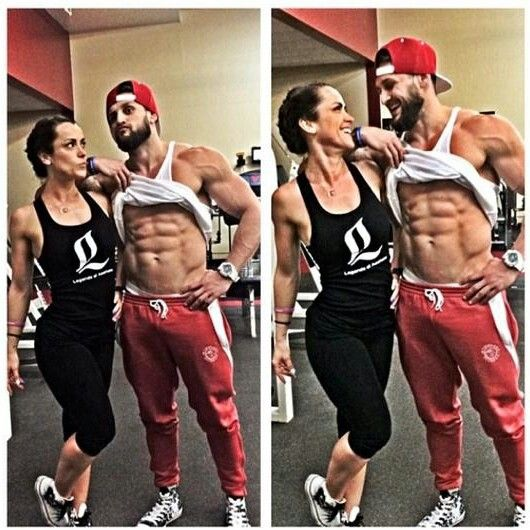 Lex And Lainey Awesome Fitness Couple Fit Couples Wrestling Fitness