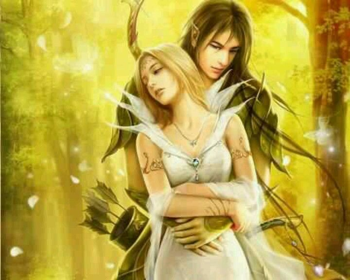 Fantasy Art Elf Couple