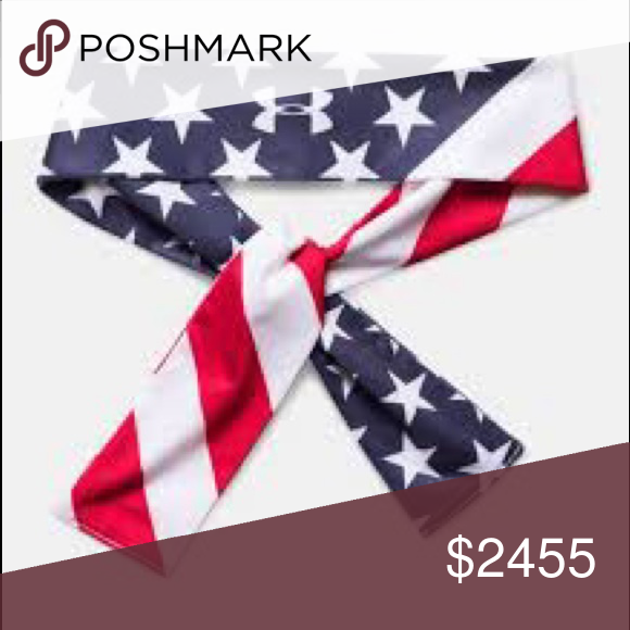 ISO ( in search of ) under armour womens headband its an under armour tie american  flag headband . Under Armour Accessories Hair Accessories 617ba2f7a90