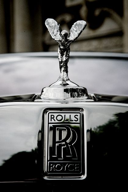logo. the double rr logo is one of the most recognised logos in the