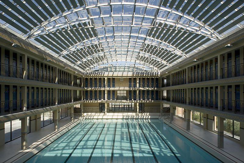 Les plus belles piscines publiques de paris parcs for Piscine rue de pontoise