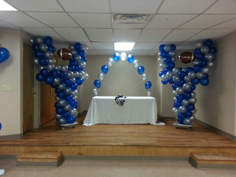 Dallas Cowboys Themed Baby Shower.