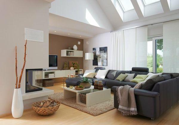 Wohnzimmer Mit Latte Und Macchiato
