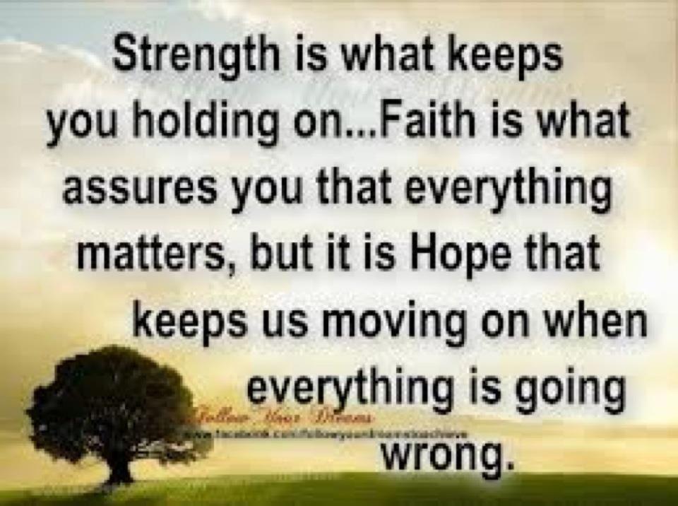 Strength, faith & hope | Seeking inspiration | Faith Quotes, Inspirational Quotes, Christian ...