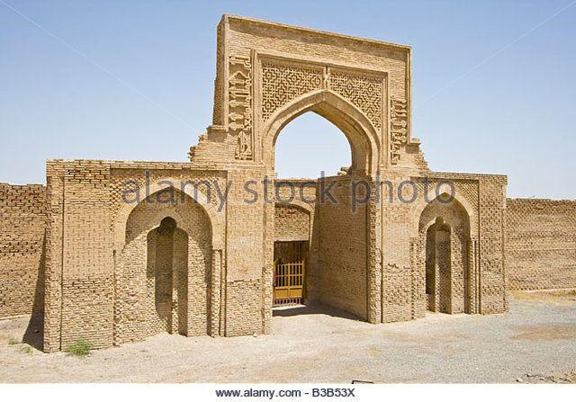 12th Century Rubat Sharaf Caravanserai near Mashhad Iran - Stock Image