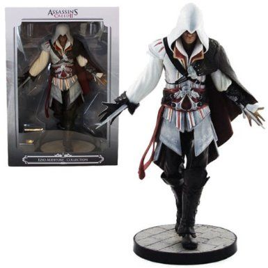 Assassin S Creed Ii Ezio Auditore Figure White Amazon Co Uk Toys Games Assassins Creed Ii Assassin S Creed Ii Assassin S Creed