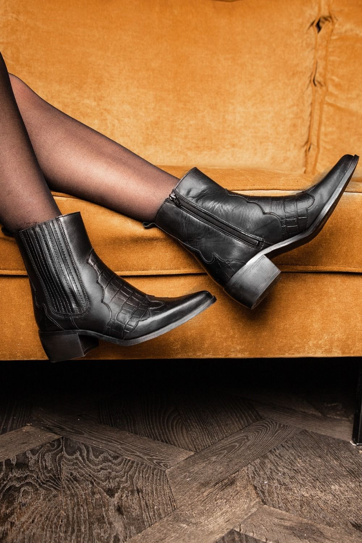 Shoecolate Laars Zwart 8.10.08.012.01 | Invito