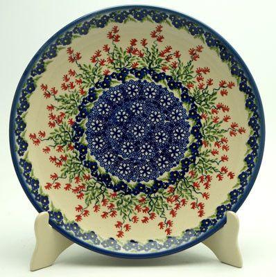 10 Dinner Plate Burning Thistle With Images Polish Pottery Polish Pottery Boleslawiec Plates