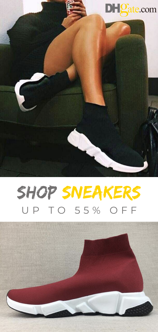Shop the hottest speed trainers mid black white sneakers! Up to 55% off. You will find the deepest and most versatile selection of kicks here. Fast shipping & easy return. #sneakers #fashion #shoes #sport #men #woman #style #dhgate
