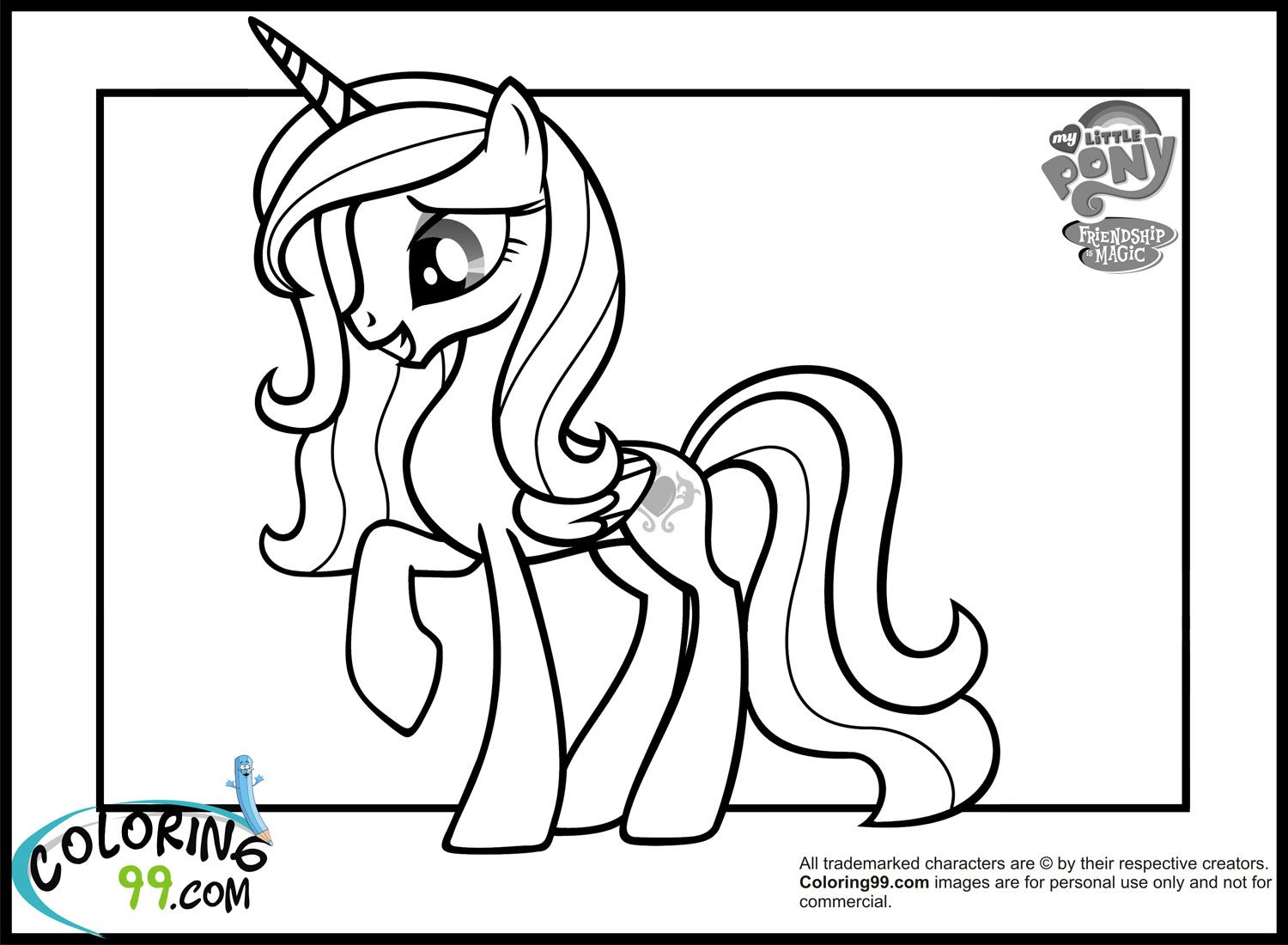 Young princess Cadance